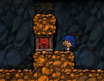 How Spelunky is typically played