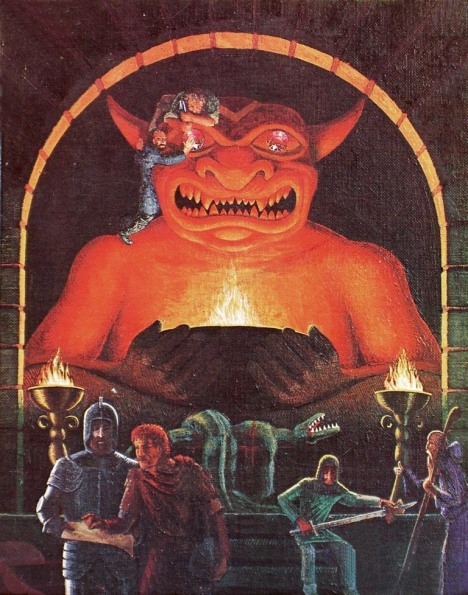 AD&D Cover Art