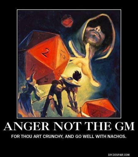 Angry DM